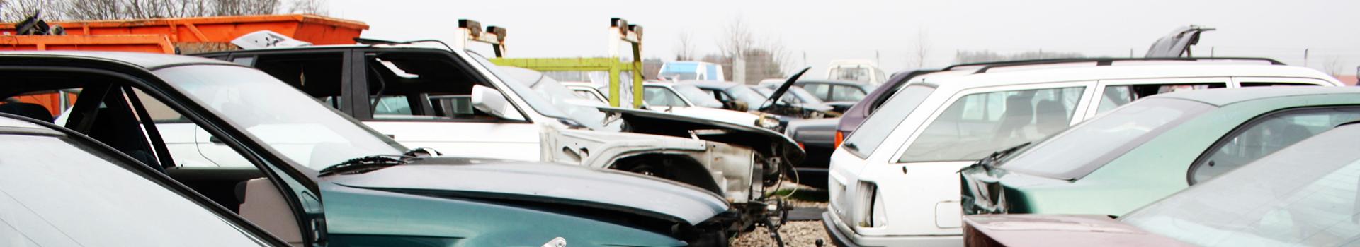 biler på bilopphuggeri